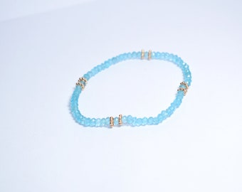 apatite  bracelet,beaded bracelet,gemstone bracelet,elastic bracelet,mothers day gift,beaded jewelry ,birthday gift,adjustable bracelet