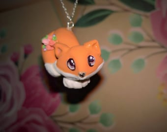Foxy Necklace and Earring Set
