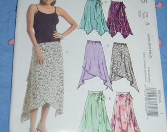 Stitch N Save 5295 Skirt Sewing Pattern - UNCUT Size Xsm Sml Med