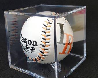 Personalized Baseball, Baby Gift, Wedding Gift, Coach Gift,Keepsake