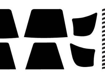 "Star Wars Stormtrooper Armor Special Operations ""TX"" Helmet Decals Stickers"