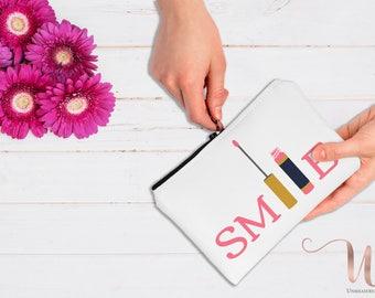 Smile LipSense and Lipstick Makeup Bag