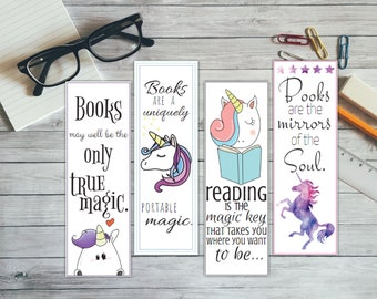Printable bookmarks | Etsy