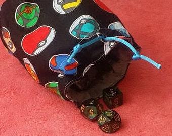 Pokebal Dice Bag