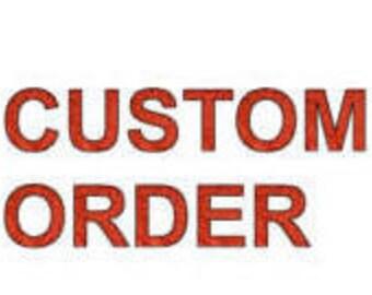 custom order for gill0610