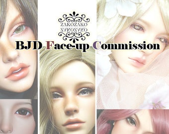 BJD Face-up Commission(Women)