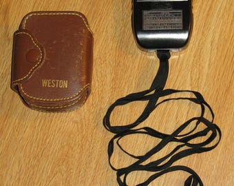 Exposure Meter by Weston Model 853