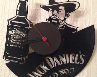 Clock cut Vinyl record Daniel's Jack