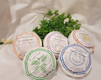 Wholesale lot 25, Shower Steamer Puck, 6 aromatherapy blends to choose from.