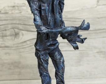 LAZARUS - Mixed media Sculpture
