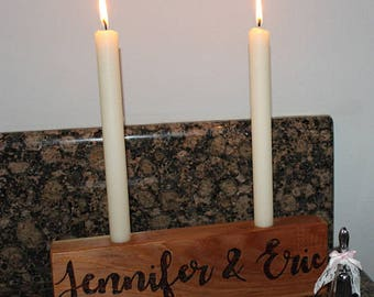 Personalized Centerpiece Candle Holder