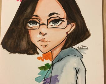 Watercolor Potrait