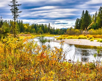 Priest River, Idaho , Landscape Photography, Nature Photography, Fine Art Photography, Wall Art, Home Decor, Gift