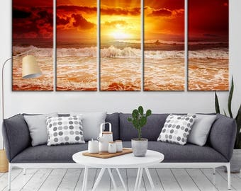 Wall Art Canvas Prints extra large art | etsy