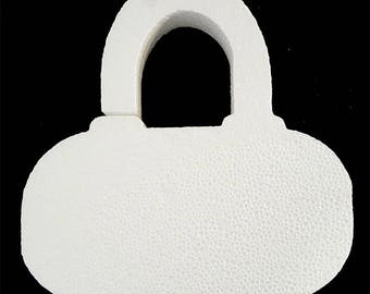Styrofoam Purse Cut Out,centerpiece,shopping,purse,handbag,styrofoam shapes,purse cut outs,styrofoam