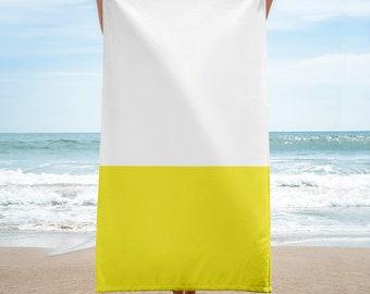 HUE No.4 Block Colour Beach Towel