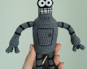 Bender handmade toy Futurama