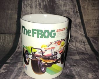 The Frog Coffee Mug with optional Keychain, gift for RC lover, RC Car Coffee Mug, Gift for Him, Radio Controlled Car Mug, RC car gift