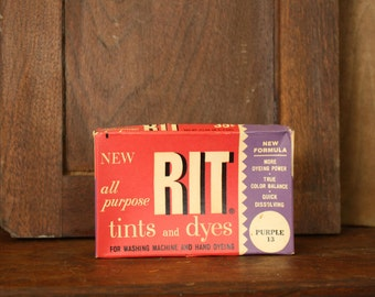 Vintage RIT® Tints and Dyes Box