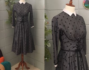 Mam'selle 1950's Corset Fit and Flare Dress