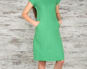 Beautiful Dress 100% Linen