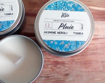 Jasmine, Neroli & Tonka Scented Candle  // Scented Soy Candle Tin // Perfect Gift for Her, Thank You Gift // Soy Candle Gift Idea