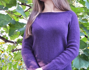 "Sweater ""Forest Violet"""