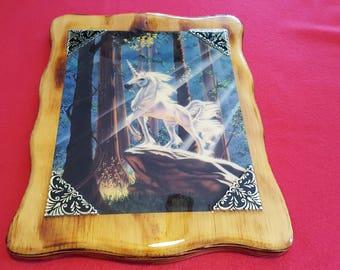 Unicorn Plaque