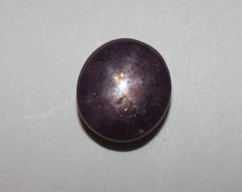 Star Ruby Cabochon 30Cts 18x13 mm