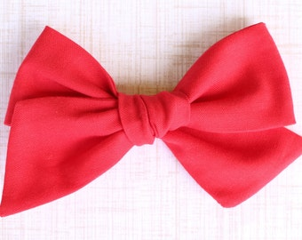 OVERSIZED Red Bow