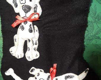 Pet Stockings. Dalmations