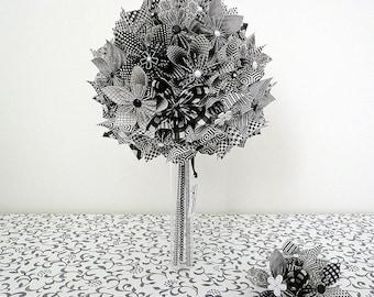 Custom origami wedding bouquet