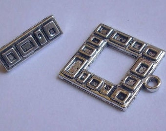 Charms - creating jewelry toggle clasp