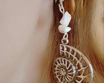 St. Lucia Howlite earrings
