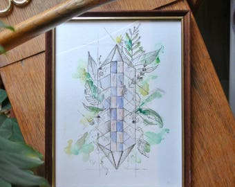 "Illustration ""Imaginary #1 house"""