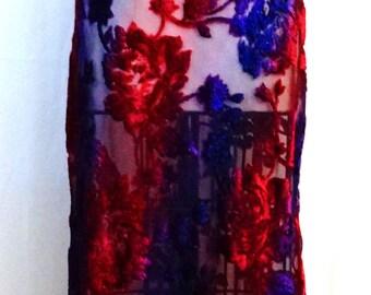 Floral Rose Vintage Dress