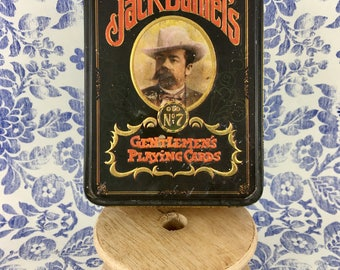 1972 Jack Daniel's Collectors Tin and Playing Cards