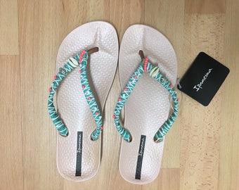 Impanema flip-flops re-designed