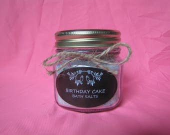 Birthday Cake Bath Salts