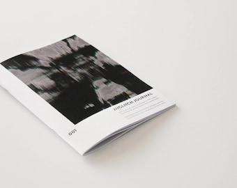 Glitch Journal 001 - trans and mental health zine