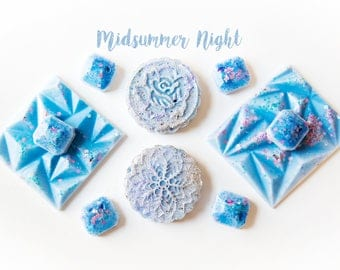 Midsummer Night Wax Melts (7.1 Oz.) - Floral Wax Melts - Feminine Scented Wax Melts - Handmade Wax Melts - Hand Poured Wax Melts - Wax Tarts