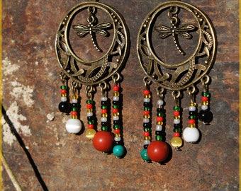 "Earrings ""Africa"""