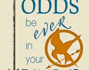 Hunger Games 8 x 11 DIGITAL DOWNLOAD