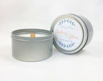 Pure Soy Candle for Wedding Favours