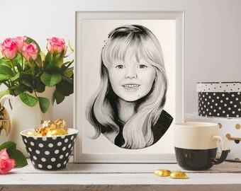 CUSTOM PORTRAITS (Pencil, Colored Pencil, Hand Drawn Artwork) Great for gifts!