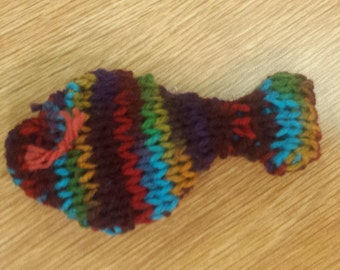 Multicolored Cat Toy