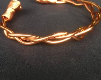 Copper bracelet Celtic jewellry (WB6)
