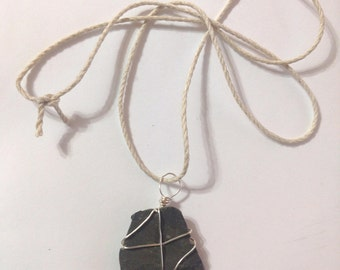 Black Slate Necklace