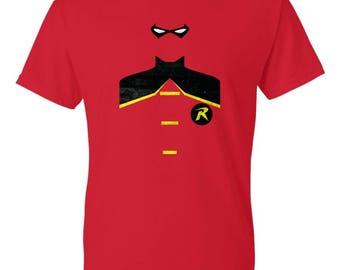 Minimalist Robin Shirt - Robin Shirt - Comic Shirt - DC Shirt