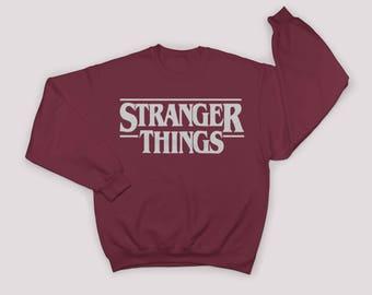 Stranger Things Sweatshirt. Stranger Things. Stranger Things Sweater. The Upside down. Stranger Things Shirt
